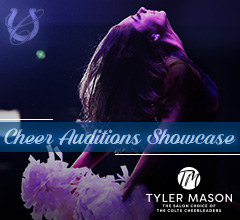 Colts Cheerleader Audition Showcase