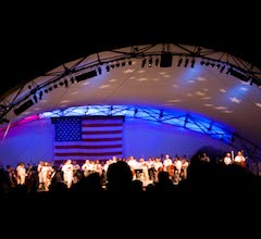 Star Spangled Symphony at White River State Park